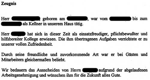 Großartig Kellnerin Aufgaben Im Lebenslauf Ideen - Beispiel Business ...