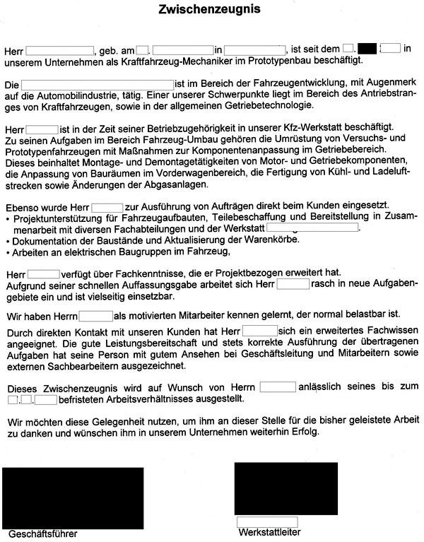 Groß Mechaniker Lebenslauf Proben Frei Bilder - Beispiel ...